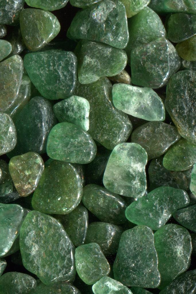 Aventurine verte pierre galet pas cher