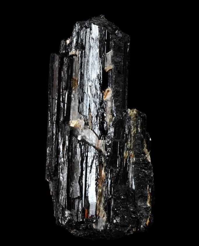 pierre galet tourmaline noire